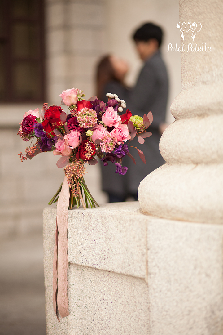 Winter Bouquet Proposal Seoul Florist