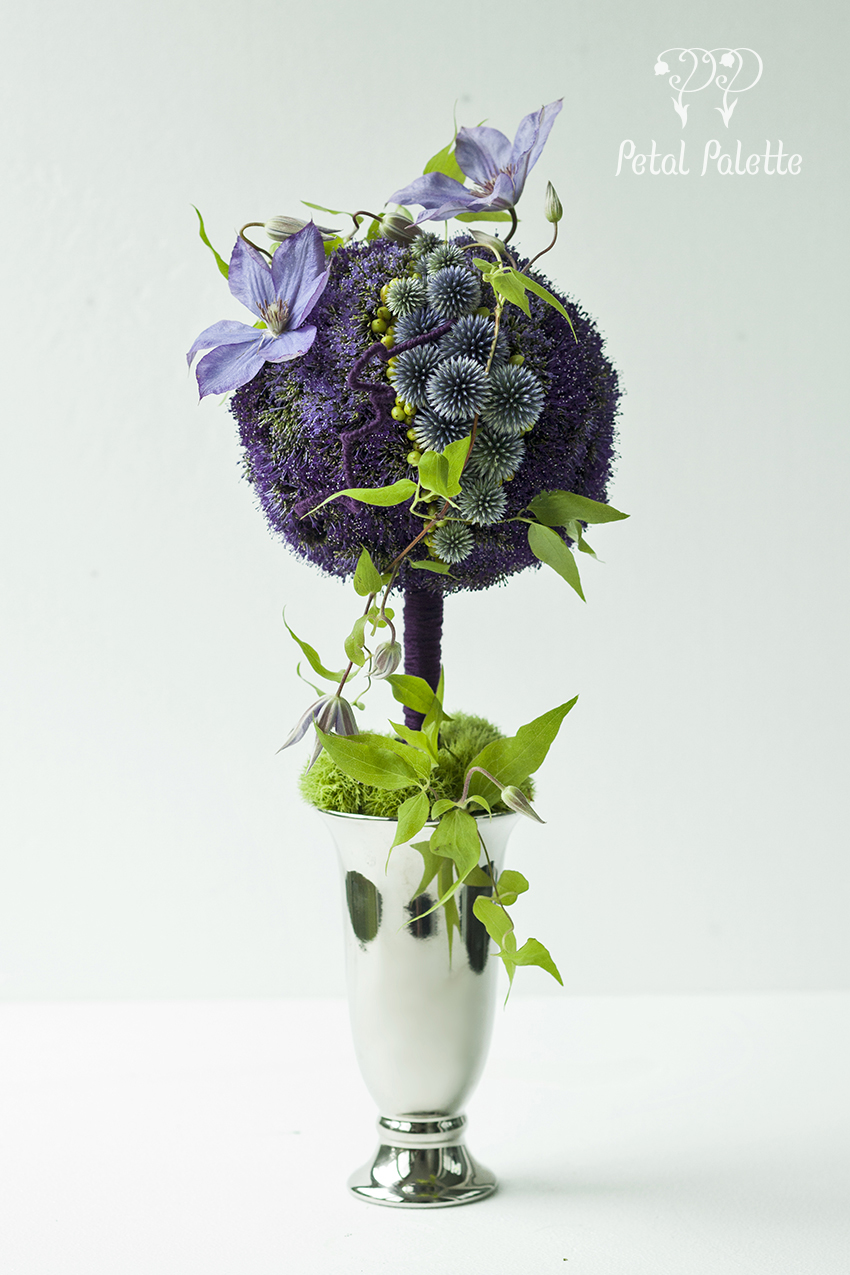 Summer Floral Toriary Private Flower Class Seoul Florist