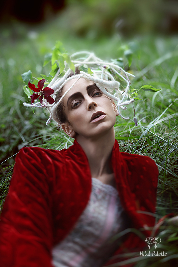 Floral Fashion Conceptual Photo Shoot