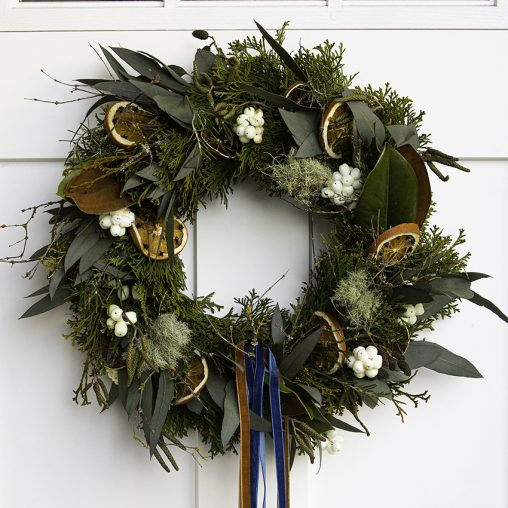 fresh christmas wreath victoria bc florist