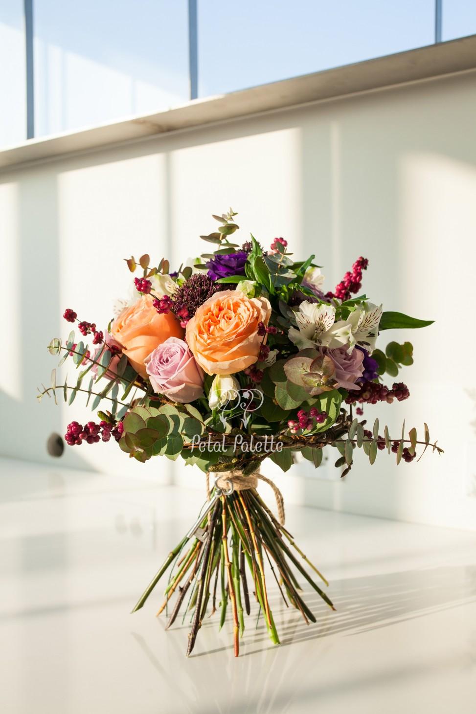 Hand-tied Engagement Bouquet Seoul Florist
