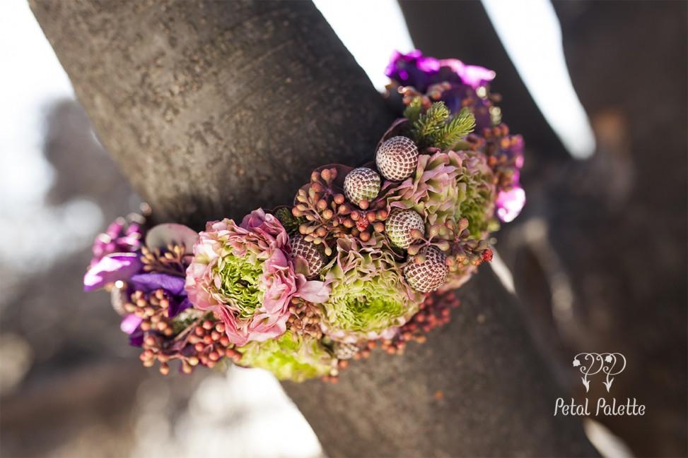 flower headpiece floral design seoul florist
