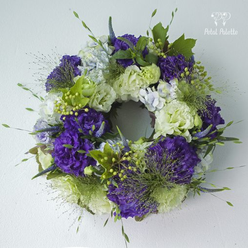 Flower Wreath Flower Class Seoul Florist