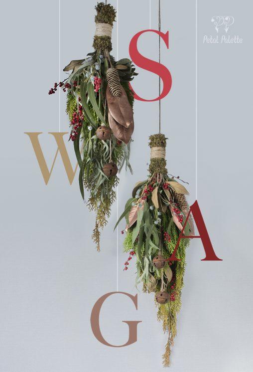Christmas Swag Seoul Florist Petal Palette
